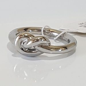 Michael kors Silver Knot Ring Size 7